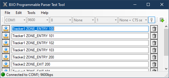 BXO ToolBox Programmable Parser Test Tool